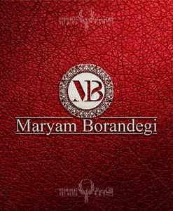 طراحی لوگو خانم مریم برندگی طراحی لوگو طراحی لوگو maryam borandegi 01