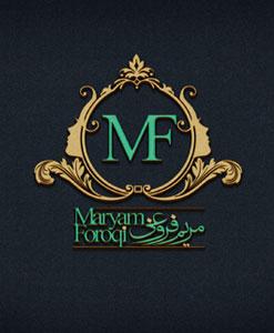 طراحی لوگو مریم فروغی
