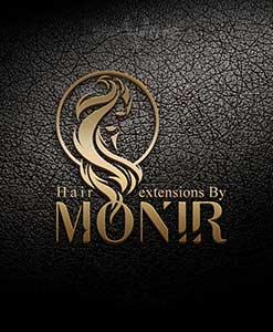 طراحی لوگو خانم منیر
