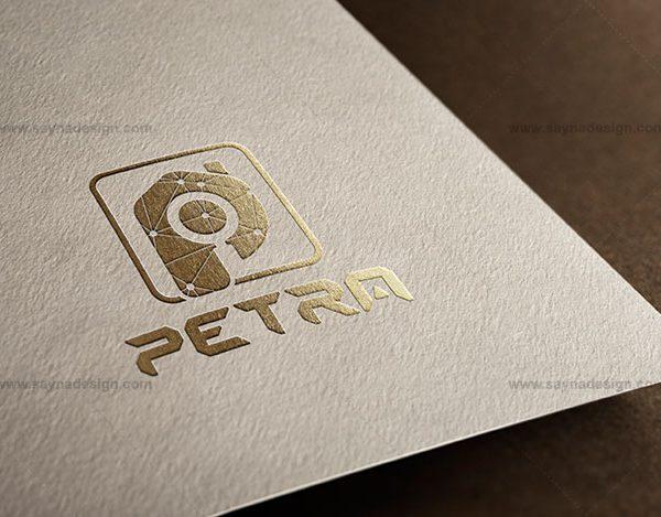 طراحی لوگو شرکت ساختمانی پترا