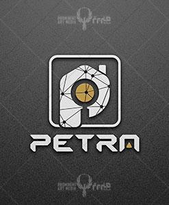 طراحی لوگو شرکت ساختمانی پترا طراحی لوگو طراحی لوگو petra 05