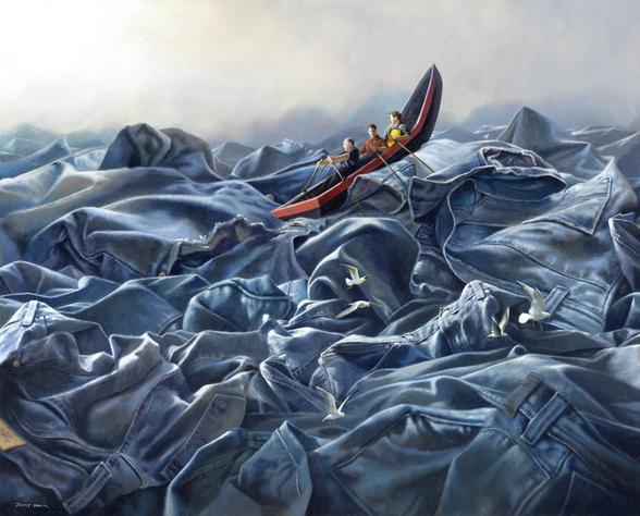 توهمات زیبا در تصویرسازی های جیمی لالر