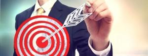 Business man drawing target targetbusiness