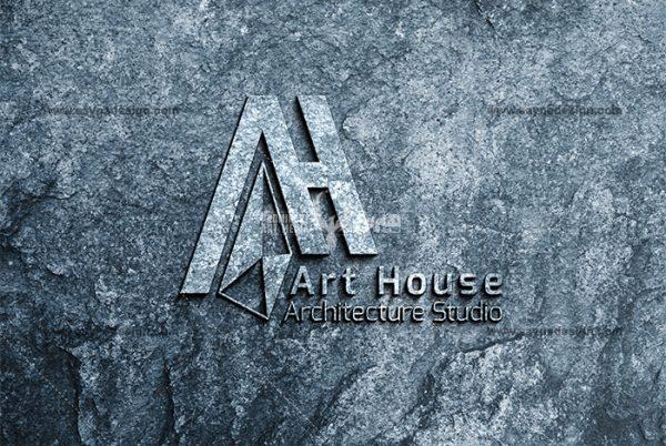 طراحی لوگو خانه هنر