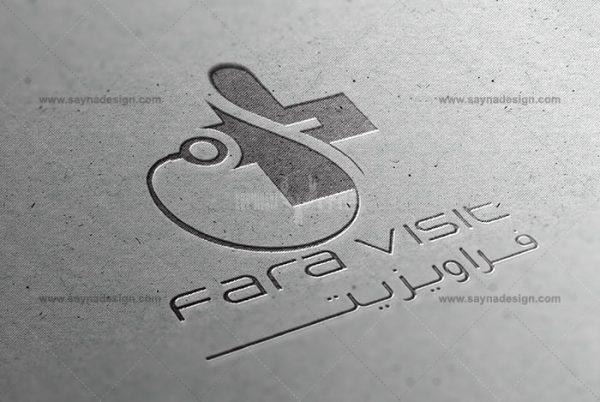 طراحی لوگو نوبت دهی آنلاین فراویزیت