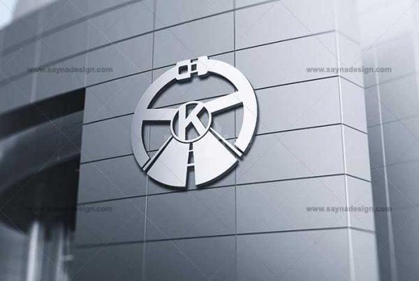 طراحی لوگو آموزشگاه رانندگی کوروش