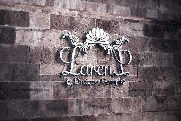 طراحی لوگو گروه لارن