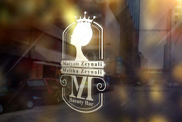 طراحی لوگو مریم زینعلی