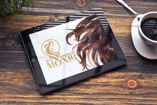 طراحی لوگو منیر اسلامی