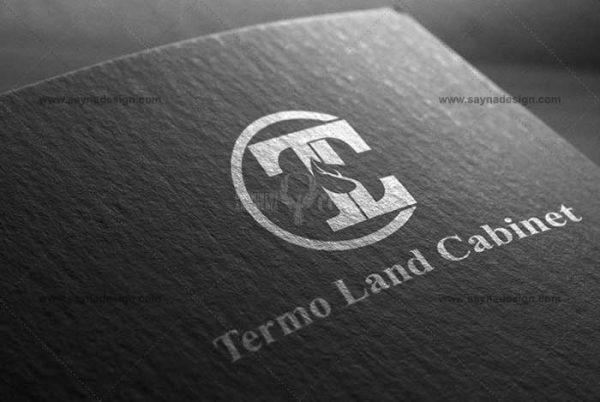 طراحی لوگو روکش کابینت ترمو لند TLC