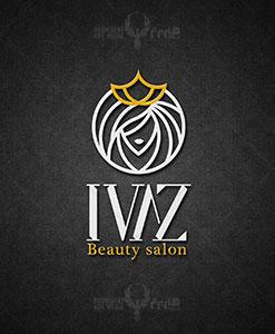 سالن زیبایی ایواز طراحی لوگو طراحی لوگو IVAZ 01