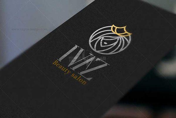 طراحی لوگو سالن زیبایی ایواز