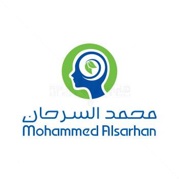 طراحی لوگو محمد السرحان