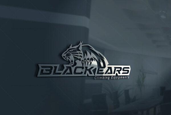 طراحی لوگو black ears