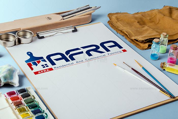 قرار داد طراحی لوگو طراحی لوگو افرا