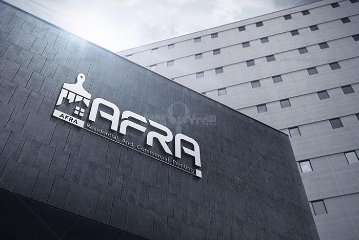 طراحی لوگو افرا