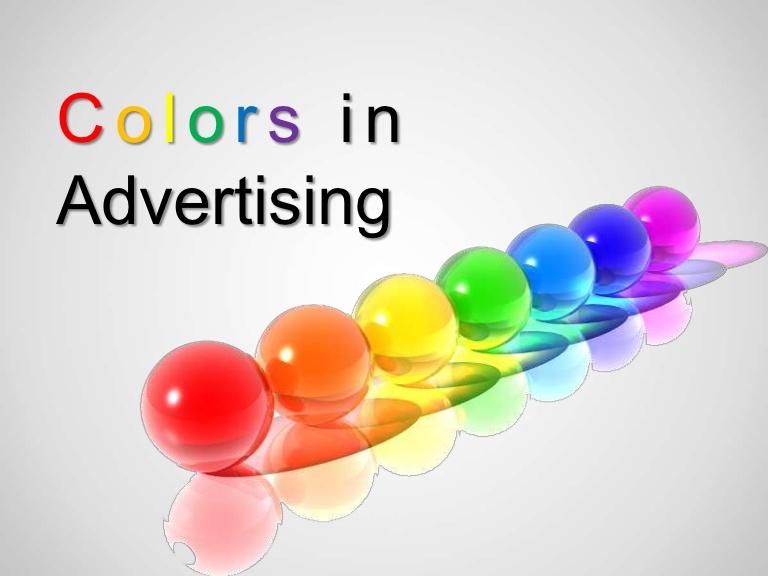 انتخاب رنگ تبلیغات گرافیکی
