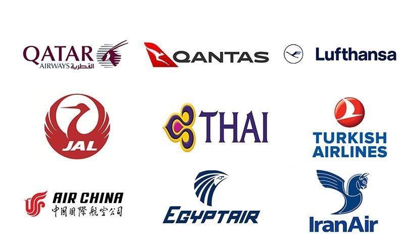 لوگوی هواپیمای ها